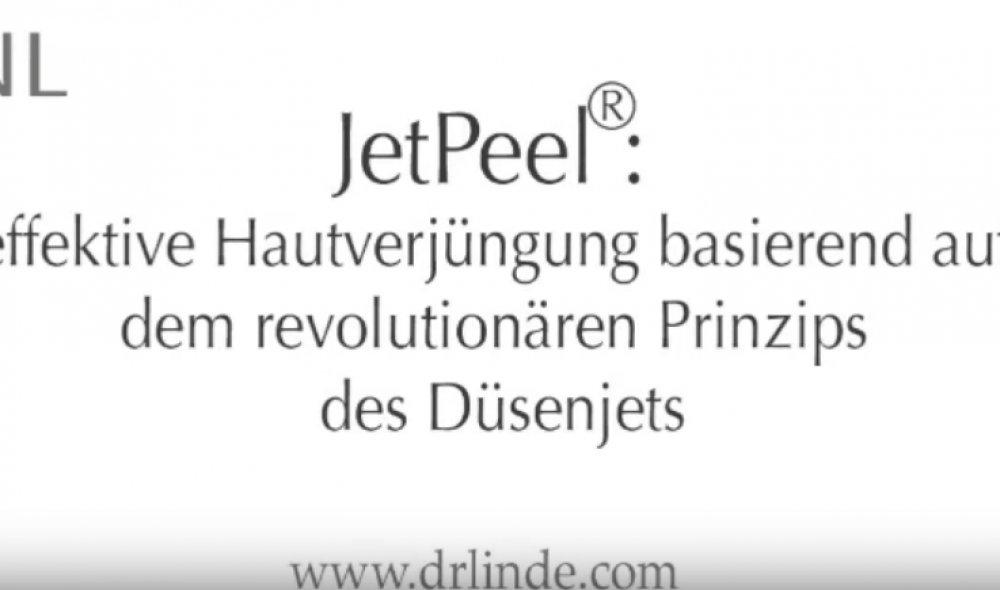 Dr. Linde - JetPeel<sup>®</sup> zur Hautverjüngung des Gesichtes