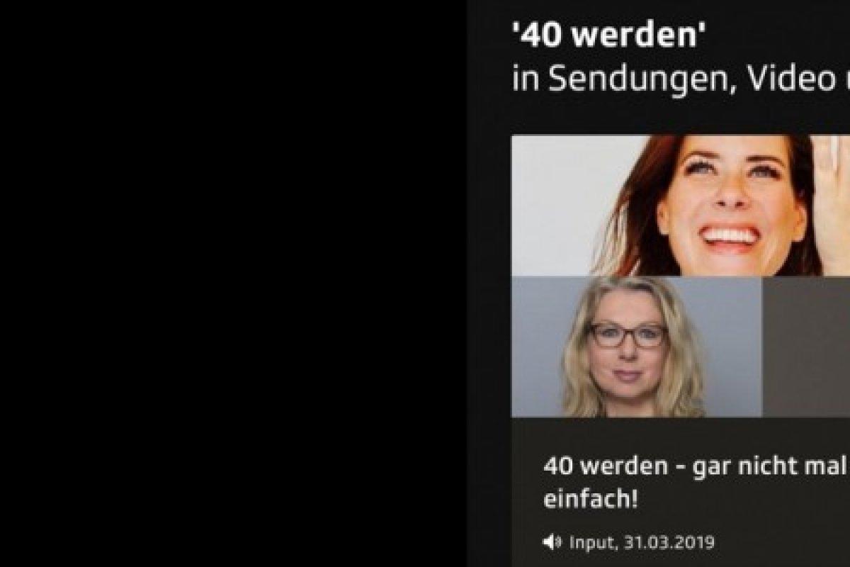 40 werden, gar nicht mal so einfach! Dr. Linde im Interview